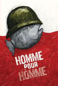 Homme pour homme © 2008 Théâtre de la Vie asbl - Sabine Rixen
