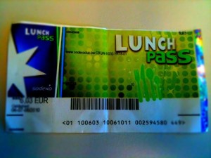 Lunch Pass Sodexo