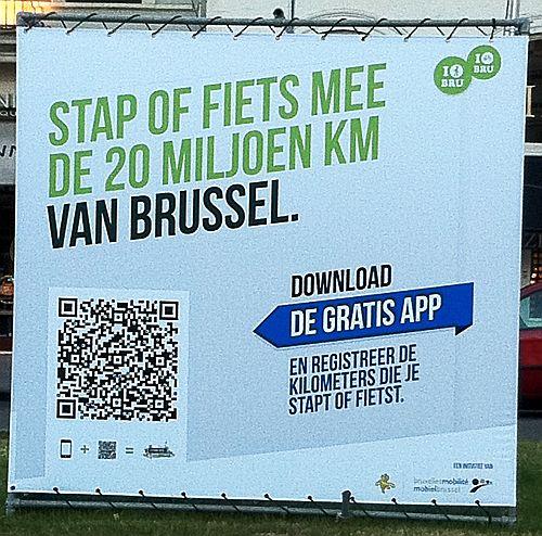 20 miljoen kilometer van Brussel