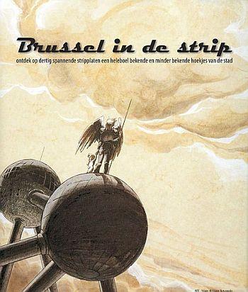 Affiche tentoonstelling Brussel in de strip