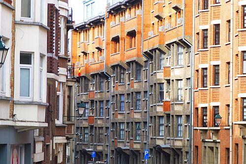 """Foto """"Fortstraat"""" uit de reeks """"Ik laat mij graag verrassen"""" van Oda Van Neygen."""