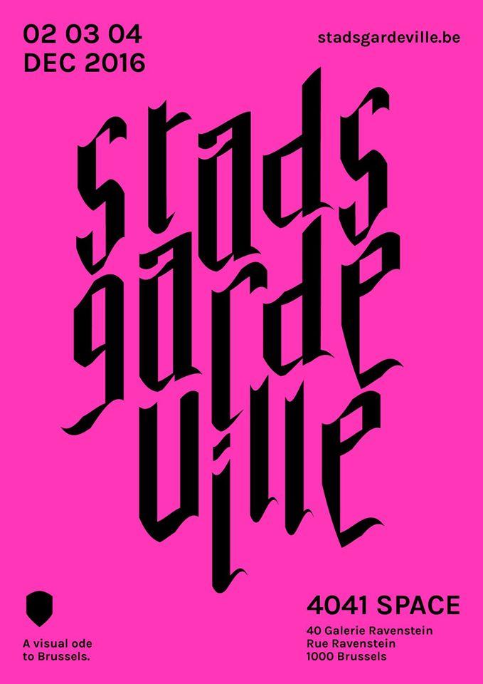Stadsgardeville Affiche