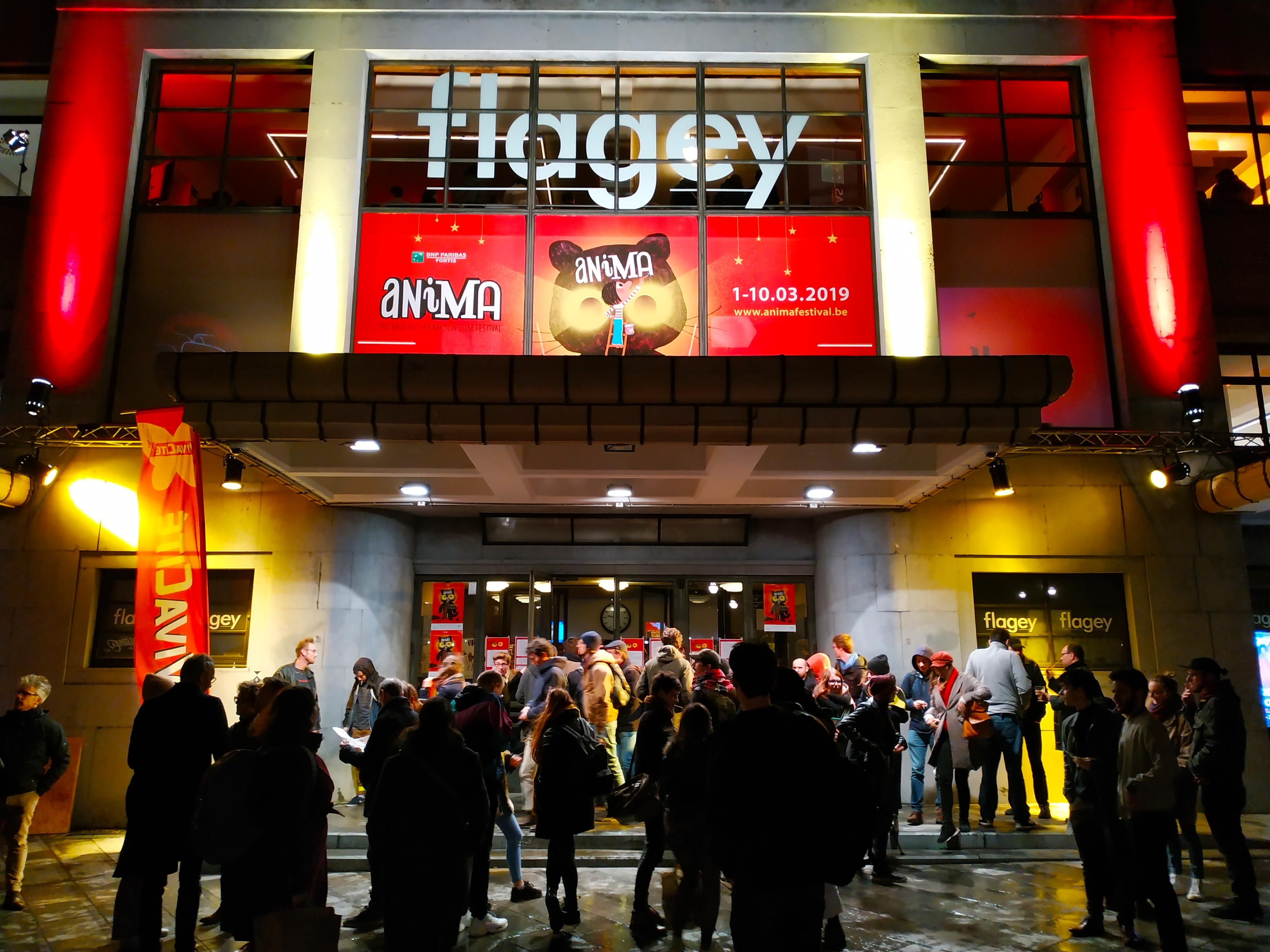 Drukbezochte Animafestival 2019 Flagey