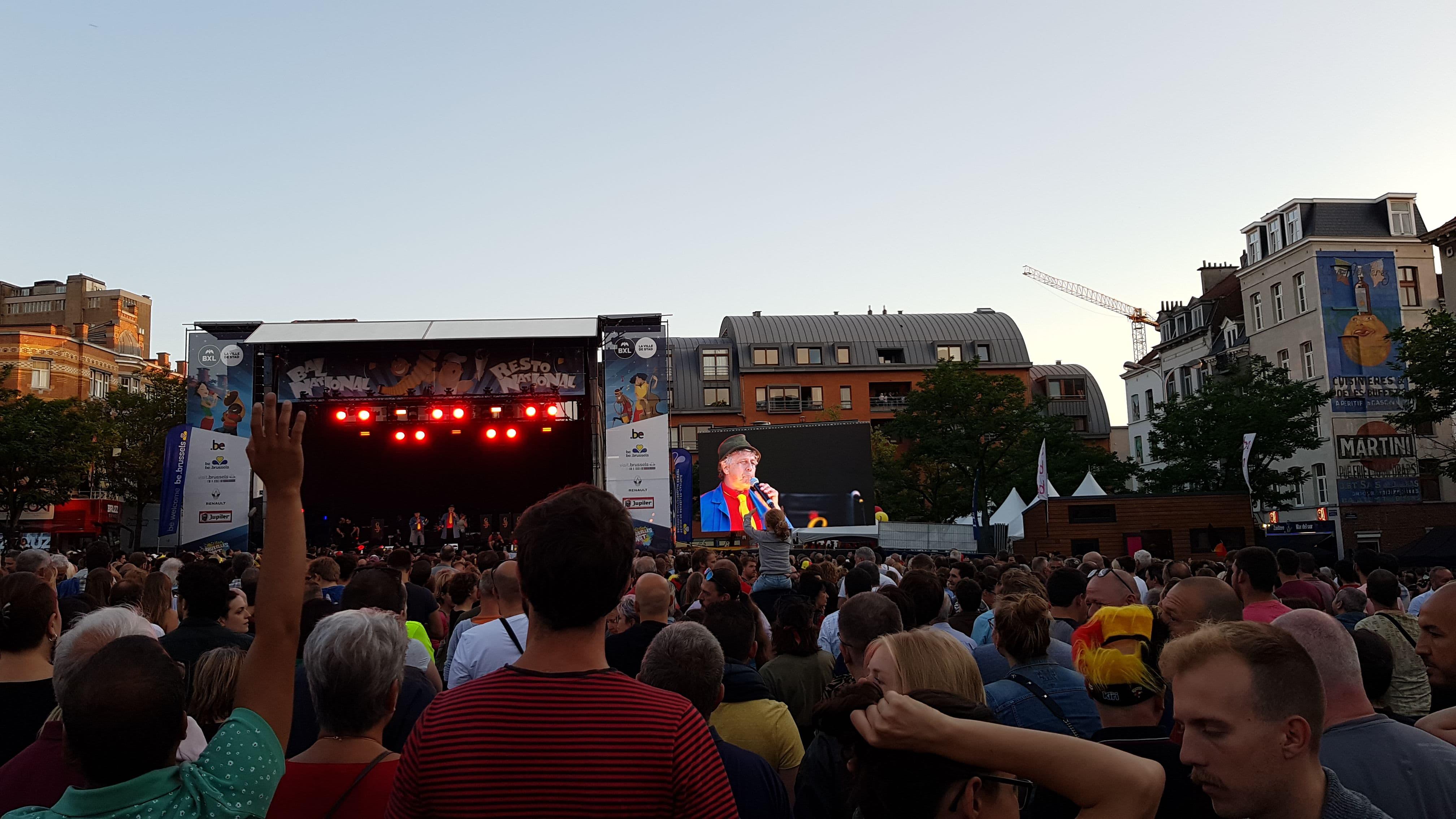 Bal National (Vossenplein - Place du Jeu de Balle) 20 juli 2019