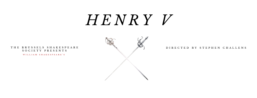 HenryV Brussels Shakespeare Society Summer Festival 2019