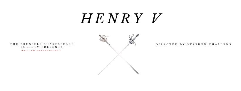 HenryV Brussels Shakespeare Society Summer Festival 2019