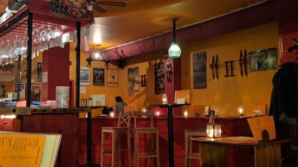 Restaurant Tapas Locas: interieur