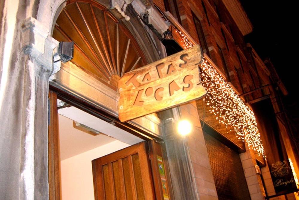 Restaurant Tapas Locas: uithangbord