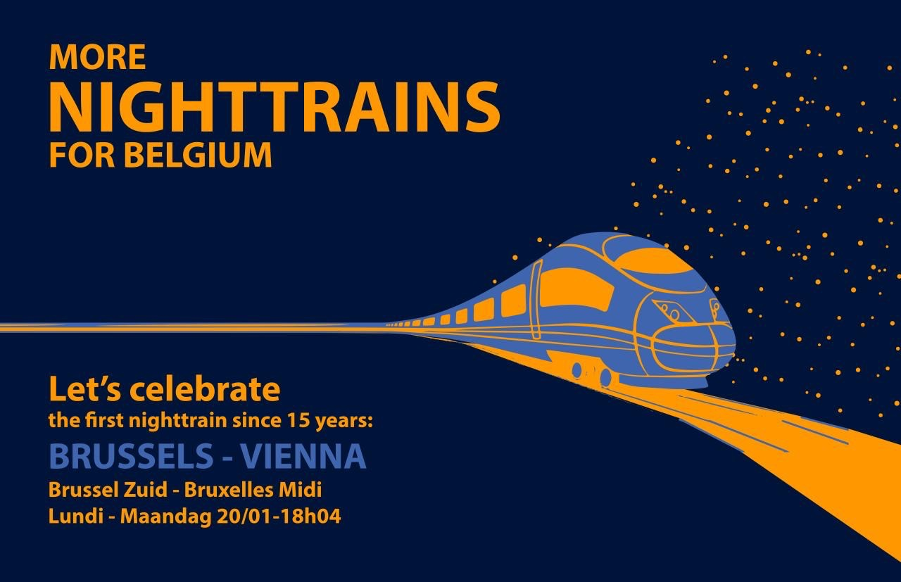 More night trains for Belgium
