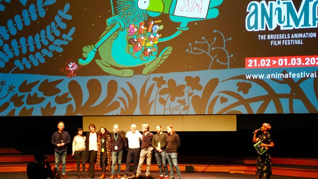 Belgische filmmakers op het podium van Animafestival